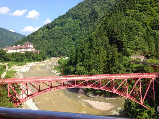 トロッコ列車風景1