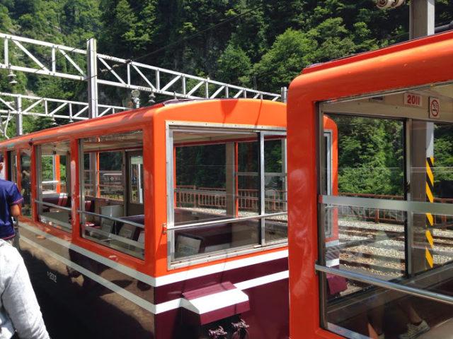トロッコ列車特別車両