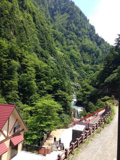 欅平駅からの風景1