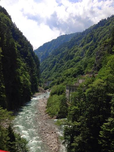 欅平駅からの風景3