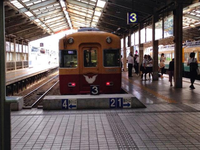 富山駅にて旧3000系正面を撮影