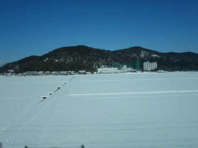 東近江付近雪景色