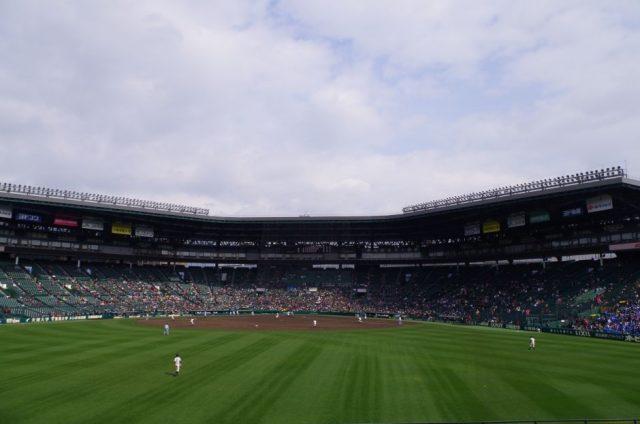 甲子園球場大好き