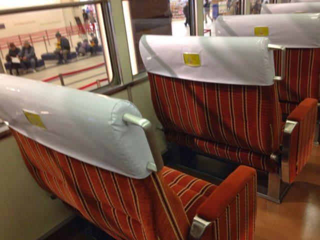 旧3000系座席