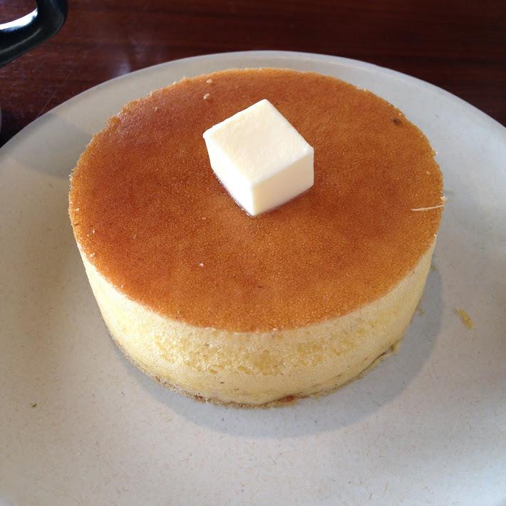 雪の下 パンケーキ