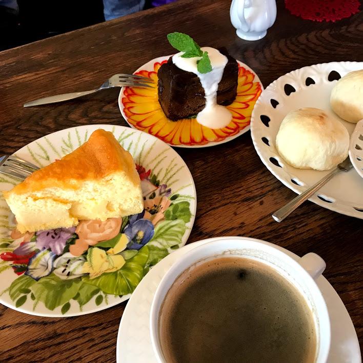お茶(喫茶再会)