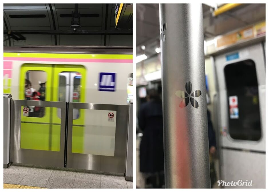 長堀鶴見緑地線ピンク列車